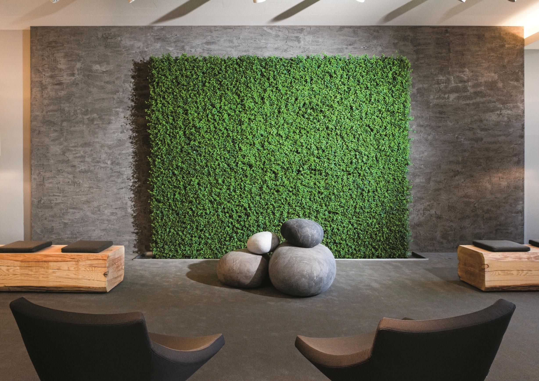 Erstaunlich Pflanzen Wand Referenz Von Im Golfhotel: Die Aus Lebenden Ist Automatisch